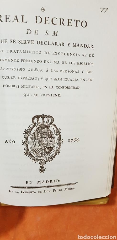 Libros de segunda mano: PROVIDENCIAS DEL CONSEJO,1788,facsimil. - Foto 10 - 160783738
