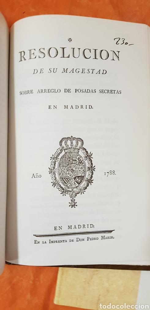 Libros de segunda mano: PROVIDENCIAS DEL CONSEJO,1788,facsimil. - Foto 13 - 160783738