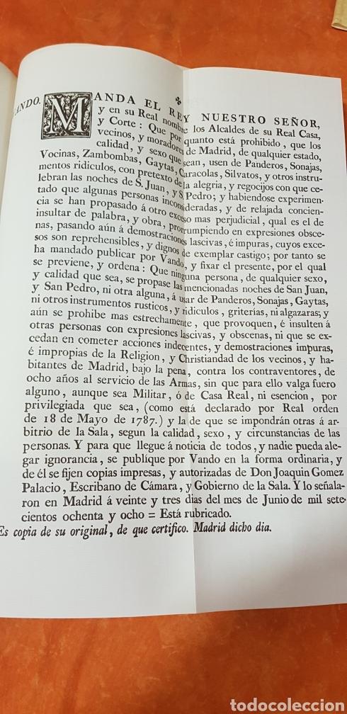 Libros de segunda mano: PROVIDENCIAS DEL CONSEJO,1788,facsimil. - Foto 14 - 160783738