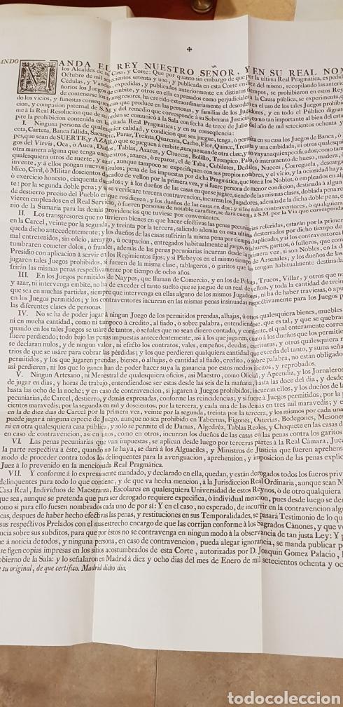 Libros de segunda mano: PROVIDENCIAS DEL CONSEJO,1788,facsimil. - Foto 15 - 160783738