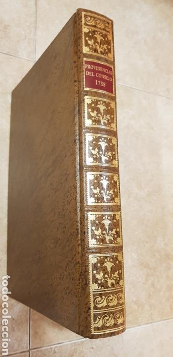 PROVIDENCIAS DEL CONSEJO,1788,FACSIMIL. (Libros de Segunda Mano - Historia Antigua)