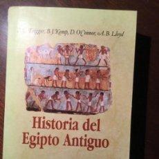 Libros de segunda mano - Historia del Antiguo Egipto. B. G. Trigger, B. J. Kemp, D. O'Connor, A. B. Lloyd. - 163455322