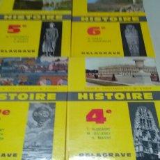 Libros de segunda mano: HISTOIRE 3° 4°5° Y 6° COURS M.CHAULANGES ET J.M. D' HOOP .DELAGRAVE 1964 A .EN FRANÇAIS. Lote 163468210