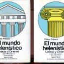 Libros de segunda mano: C. PREAUX. EL MUNDO HELENÍSTICO. 2 VOLUMENES. ED. LABOR 1984.. Lote 164024382