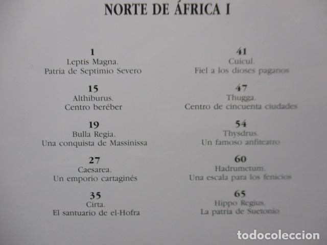 Libros de segunda mano: ARQUEOLOGÍA DE CIUDADES PERDIDAS, Nº 23 : NORTE DE AFRICA I - MUY BUEN ESTADO. - Foto 5 - 165312446