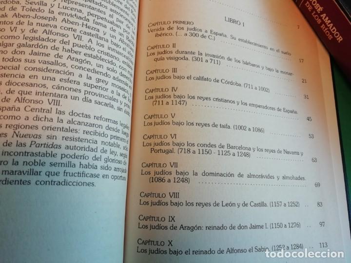 Libros de segunda mano: HISTÒRIA SOCIAL, POLÍTICA Y RELIGIOSA DE LOS JUDÍOS EN ESPAÑA - Foto 5 - 165314082