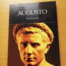 Libros de segunda mano: AUGUSTO (SUETONIO) HISTORIA NATIONAL GEOGRAPHIC. Lote 165397458