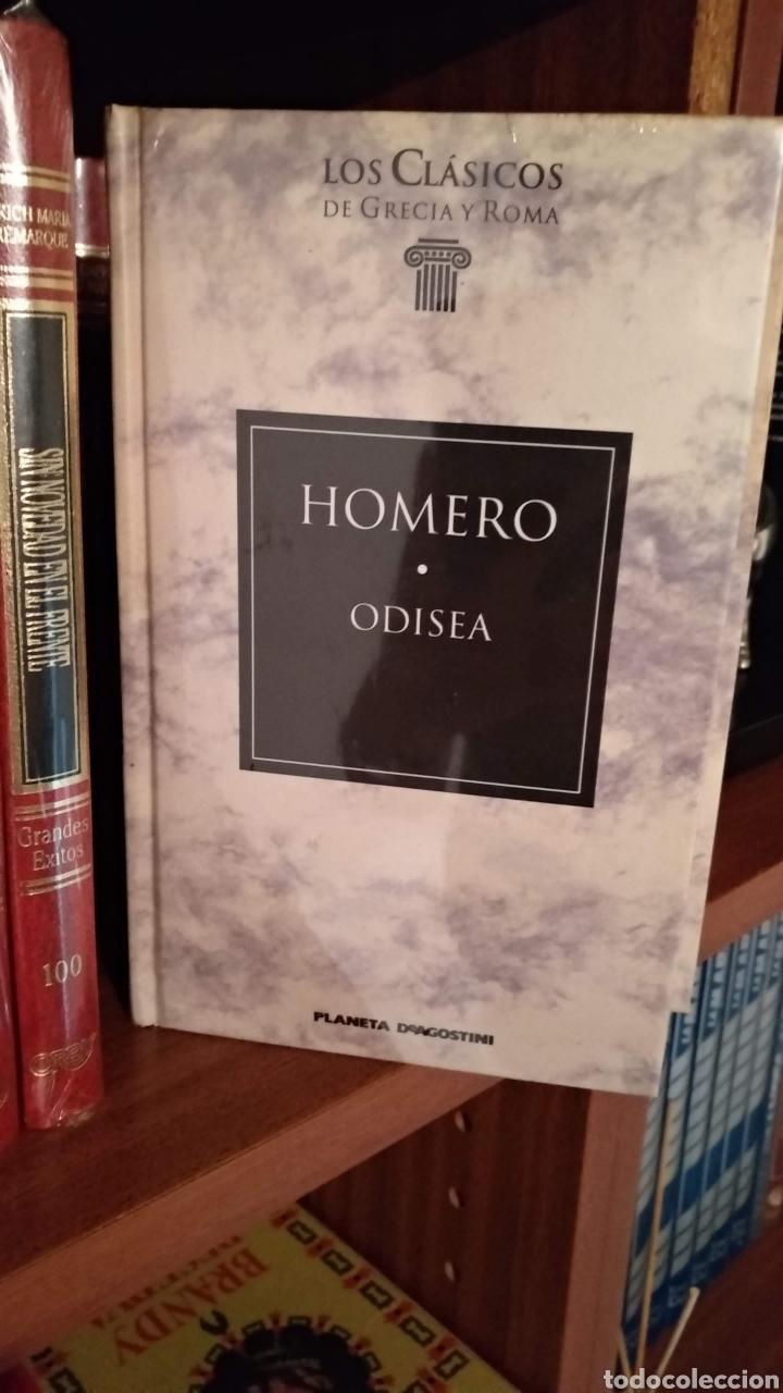 HOMERO. ODISEA (Libros de Segunda Mano - Historia Antigua)