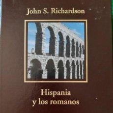Libros de segunda mano: JOHN RICHARDSON. HISPANIA Y LOS ROMANOS . Lote 166162630