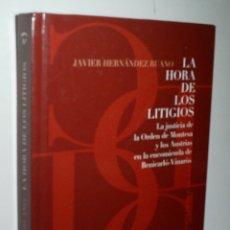 Libros de segunda mano: LA JUSTICIA DE LA ORDEN DE MONTESA Y LOS AUSTRIAS Y LA ENCOMIENDA DE BENICARLÓ-VINARÓS. 2006. Lote 166693582