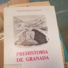 Libros de segunda mano: PREHISTORIA DE GRANADA. Lote 166985052