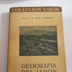 Libros de segunda mano: GEOGRAFIA DEL JAPON - F.W. PAUL LEHMANN - 1929 - 198 PAGINAS - COLECCION LABOR. Lote 167046324