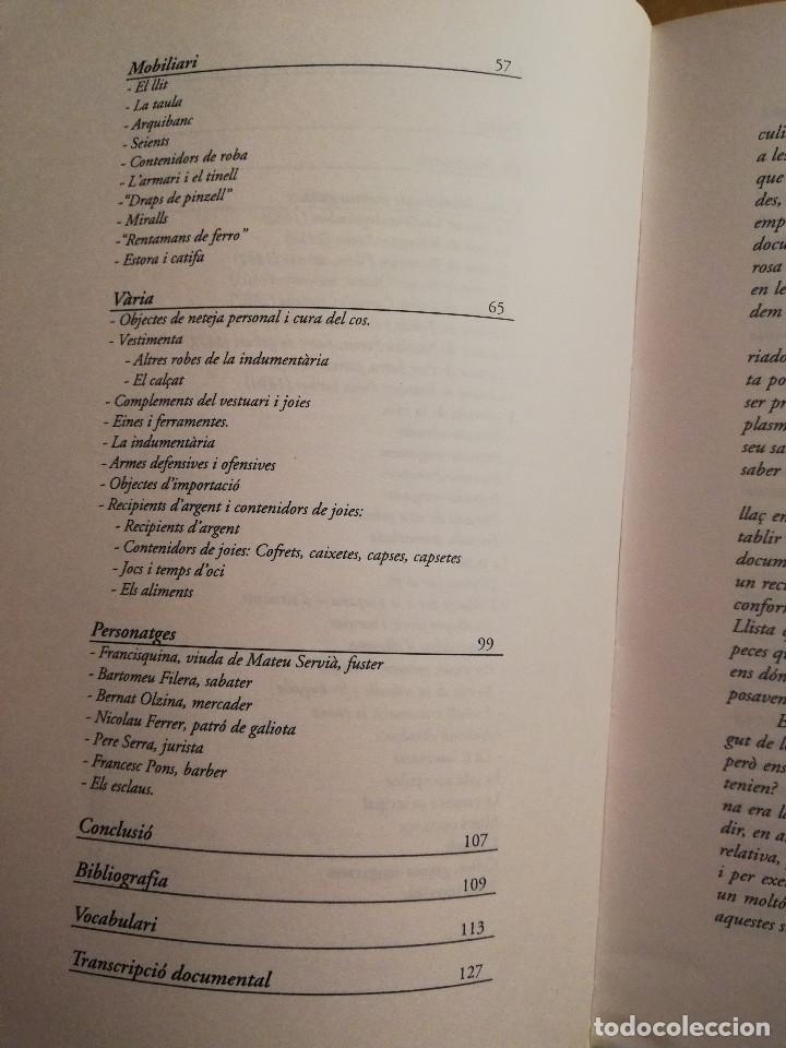 Libros de segunda mano: ALGUNS ASPECTES DE LA VIDA QUOTIDIANA A LA MENORCA MEDIEVAL (JAUME SASTRE MOLL) - Foto 4 - 168273692