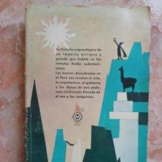 Libros de segunda mano: EL IMPERIO DE LOS INCAS. VÍCTOR W. VON HAGEN. 1961.. Lote 168755412
