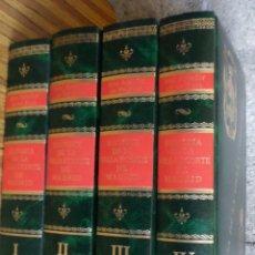 Libros de segunda mano: 4 TOMOS COMPLETA - HISTORIA DE LA VILLA Y CORTE DE MADRID - JOSÉ AMADOR DE LOS RÍOS - FACSÍMIL. Lote 245149760