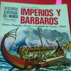 Libros de segunda mano: IMPERIOS Y BÁRBAROS 500 A.C. AL 600 D.C.ED.PLESA - SM. Lote 169876025