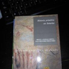 Libros de segunda mano: HISTORIA PRIMITIVA EN ASTURIAS - MIGUEL A. DE BLAS CORTINA - BIBLIOTECA HISTORICA ASTURIANA 4. Lote 171214155