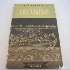 Libros de segunda mano: LOS VIKINGS. Lote 171527884