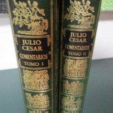 Libros de segunda mano: JULIO CESAR. COMENTARIOS SOBRE LA GUERRA DE LAS GALIAS Y LA GUERRA CIVIL. . Lote 171532810