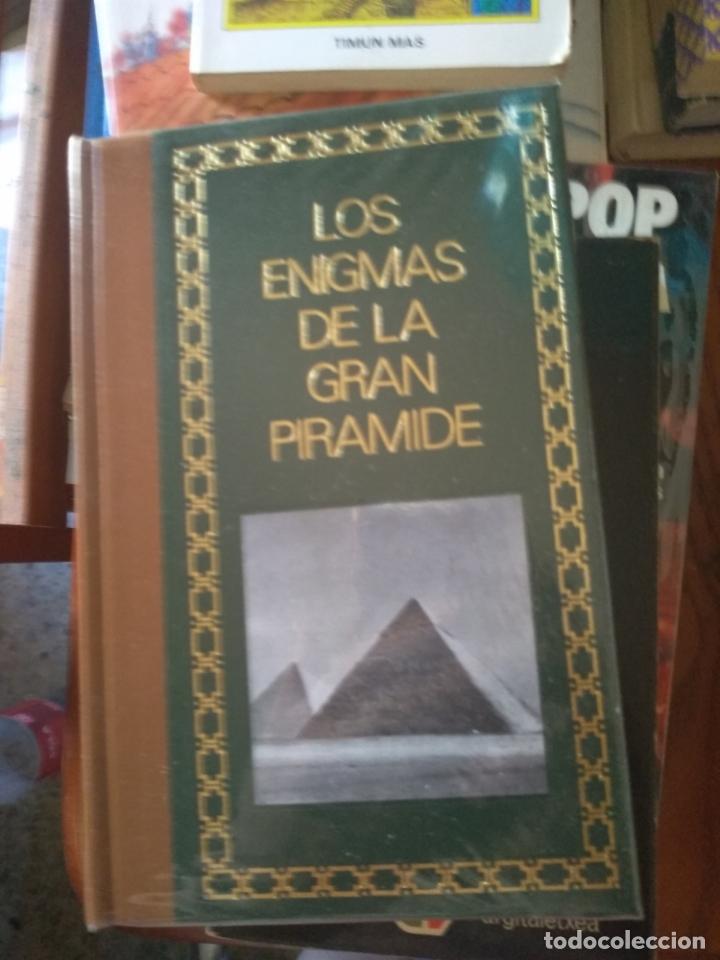 LOS ENIGMAS DE LA GRAN PIRAMIDE / PHILIPPE AZIZ (Libros de Segunda Mano - Historia Antigua)