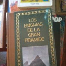 Libros de segunda mano: LOS ENIGMAS DE LA GRAN PIRAMIDE / PHILIPPE AZIZ. Lote 171608893