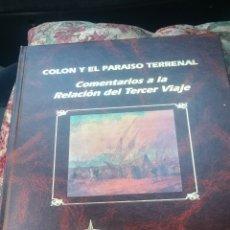 Libros de segunda mano: COLON Y EL PARAÍSO TERRENAL. Lote 172615393