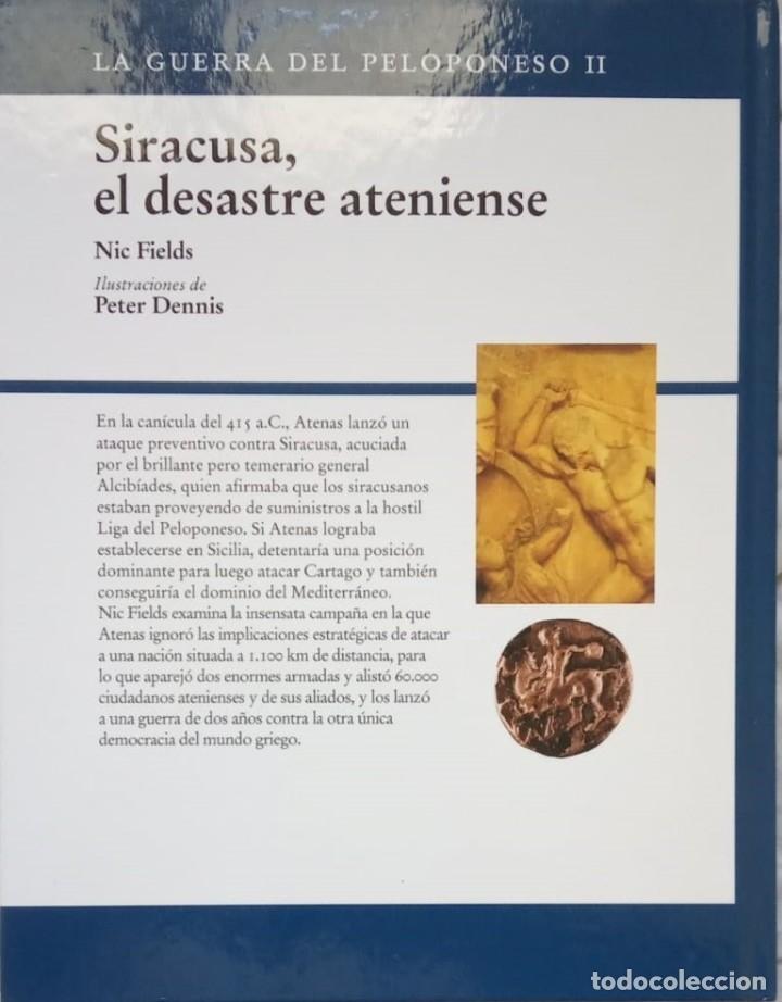 Libros de segunda mano: SIRACUSA, DESASTRE ATENIENSE- Nic Fields - OSPREY - Foto 2 - 172782944