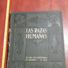 Libros de segunda mano: LAS RAZAS HUMANAS.1945. Lote 173448794