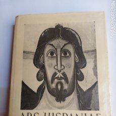 Libros de segunda mano: RÓMANICO .ARS HISPANAE .VOLUMEN SEXTO. PINTURA IMAGINERIA ROMANICAS. Lote 173659139