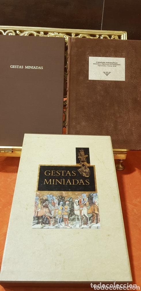 Libros de segunda mano: GESTAS MINIADAS - Foto 2 - 173935185