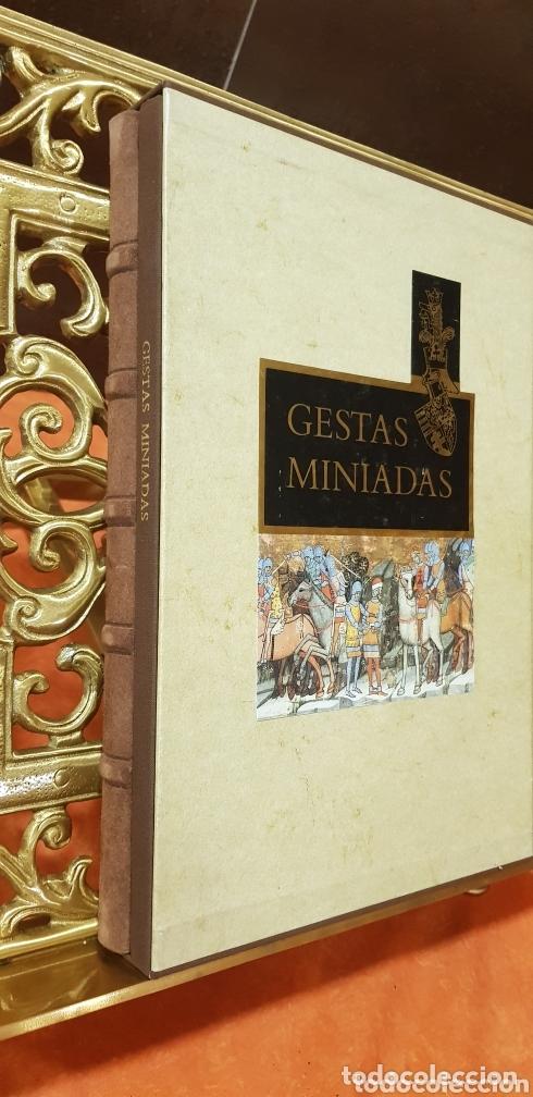 Libros de segunda mano: GESTAS MINIADAS - Foto 12 - 173935185