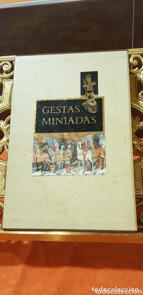 GESTAS MINIADAS (Libros de Segunda Mano - Historia Antigua)