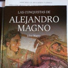 Libros de segunda mano: LAS CONQUISTAS DE ALEJANDRO MAGNO. - WARRY, JOHN.. Lote 173752649