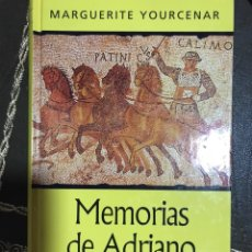 Libros de segunda mano: MEMORIAS DE ADRIANO MARGUERITE YOURCENAR 2001. Lote 174177549
