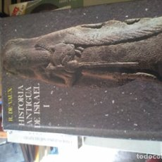 Libros de segunda mano: HISTORIA ANTIGUA DE ISRAEL, ROLAND DE VAUX, OP, 1975 (TOMO I). Lote 174374784