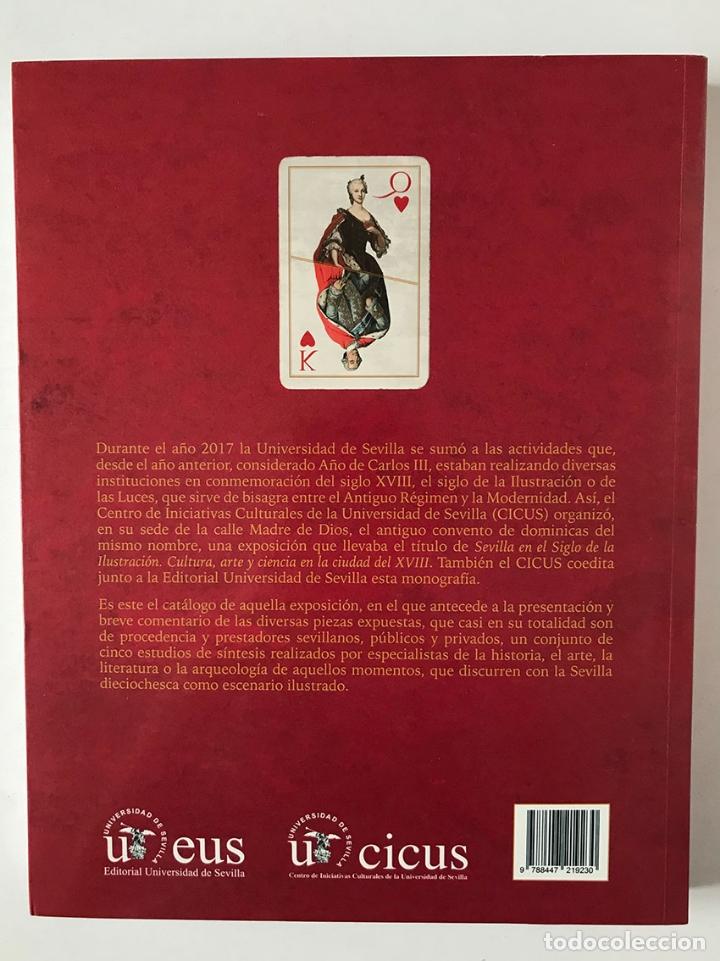 Libros de segunda mano: Sevilla en el Siglo de la Ilustración Cultura, arte y ciencia en la ciudad del XVIII - Foto 2 - 174527663