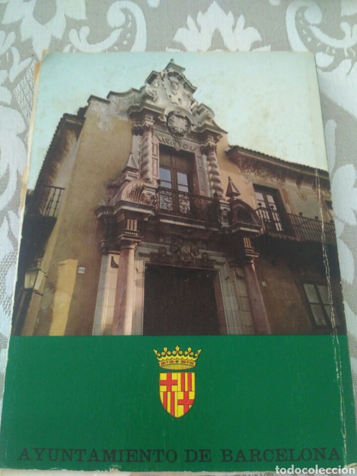 Libros de segunda mano: Libro Pueblo Español de Montjuich Barcelona - Foto 2 - 175210170