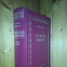 Libros de segunda mano: LOS MITOS GRIEGOS, ROBERT GRAVES, RBA, GRANDES OBRAS DE LA CULTURA, 2005. Lote 175230273