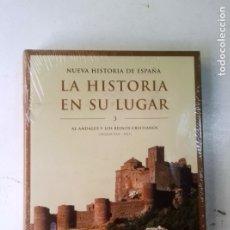 Libros de segunda mano: LA HISTORIA EN SU LUGAR - AL-ANDALUS Y LOS REINOS CRISTIANOS (SIGLOS VIII-XIII) - EDITORIAL PLANETA. Lote 175404835