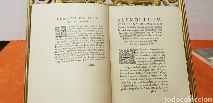Libros de segunda mano: INSTITUCIONS DELS FURS.facsimil, - Foto 5 - 175863300