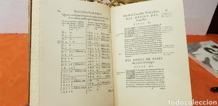 Libros de segunda mano: INSTITUCIONS DELS FURS.facsimil, - Foto 6 - 175863300