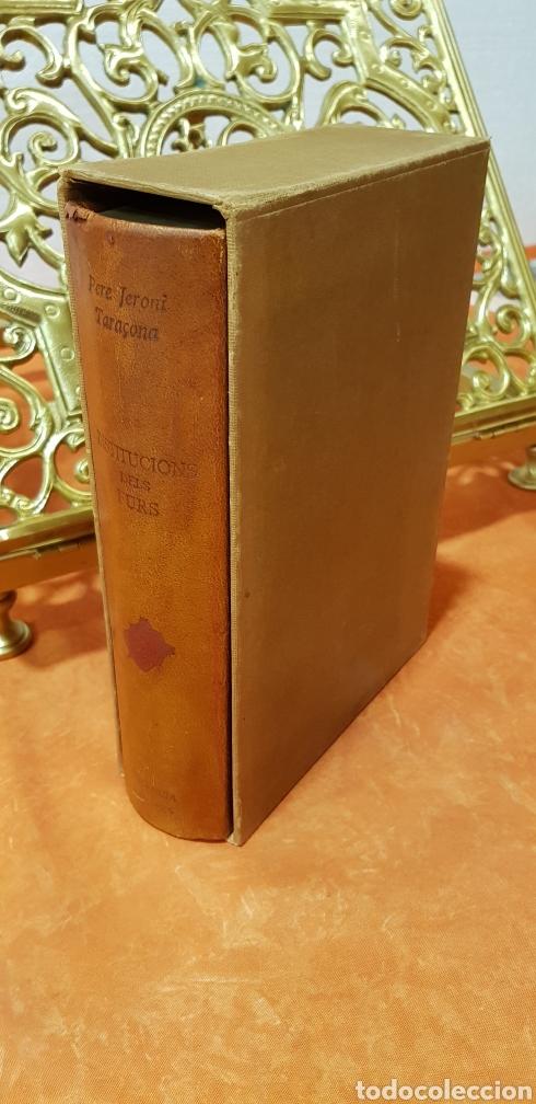 Libros de segunda mano: INSTITUCIONS DELS FURS.facsimil, - Foto 9 - 175863300