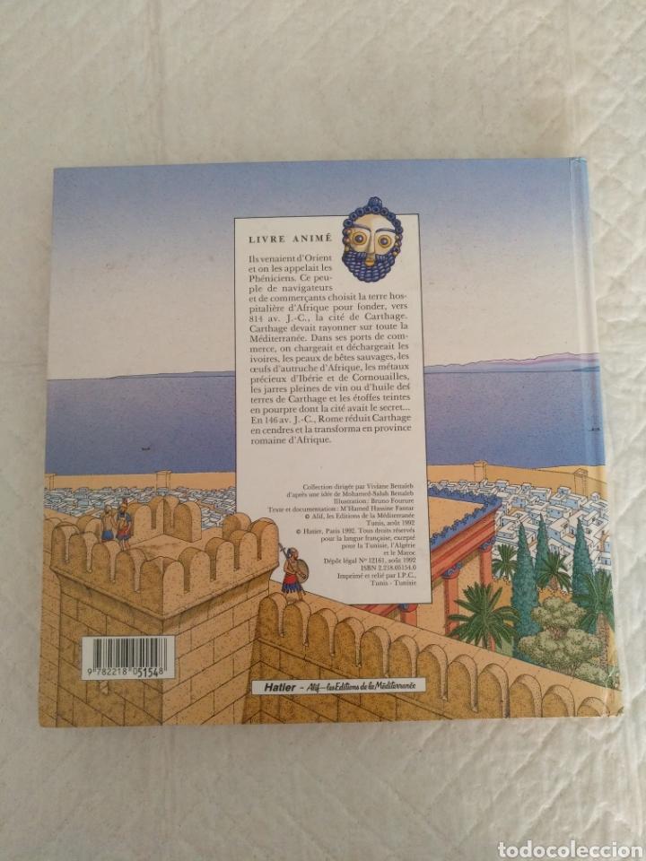 Libros de segunda mano: Carthage cite phenicienne d Afrique. Libro - Foto 5 - 176770617