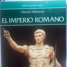 Libros de segunda mano: EL IMPERIO ROMANO . BIBLIOTECA GRAFICA NOGUER . Lote 176844809