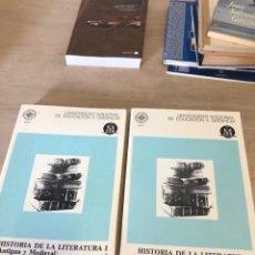 Libros de segunda mano: HISTORIA DE LA LITERATURA I Y II. Lote 177484307