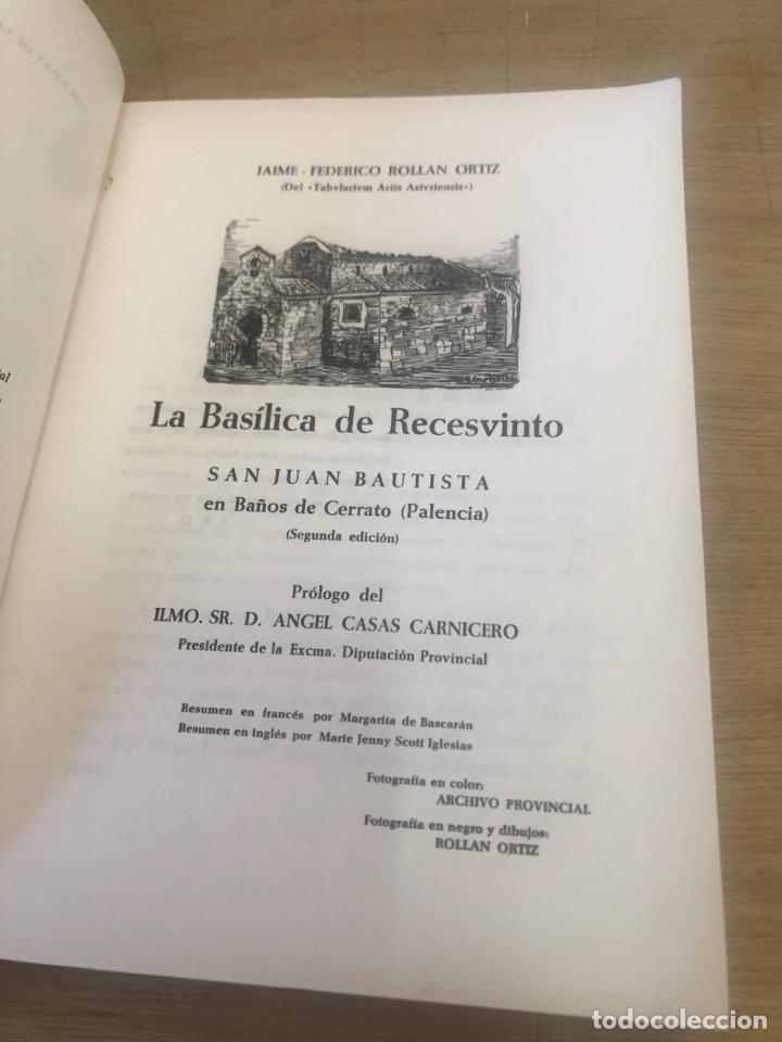 Libros de segunda mano: La basílica de recesvinto - Foto 2 - 177983475