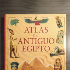 Libros de segunda mano: ATLAS DEL ANTIGUO EGIPTO. ALESSANDRO BONGIOANNI. ALIANZA,. Lote 178248630