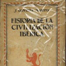 Libros de segunda mano: HISTORIA DE LA CIVILIZACIÓN IBÉRICA. Lote 178846508