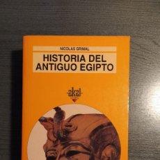 Libros de segunda mano: HISTORIA DEL ANTIGUO EGIPTO - NICOLÁS GRIMAL . AKAL. Lote 178907018