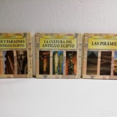 Libros de segunda mano: COLECCIÓN 3 LIBROS EGIPTO ED. EDIMAT 1998-NUEVOS. Lote 179048533